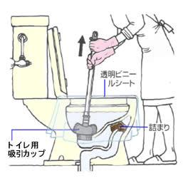 トイレ 詰まり 溶かす