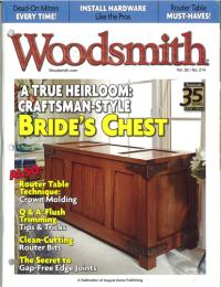 Woodsmith Vol.36/No.214