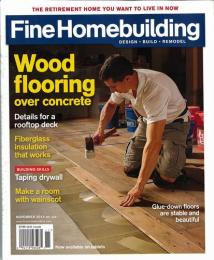 Fine Homebuilding NOVEMBER 2014 No.246