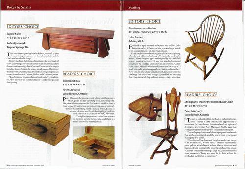 Popular wood working November 2014 #214