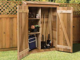 hutch ハッチ 木製小屋「シダーシェッド」