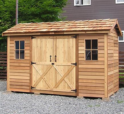 long House ロングハウス 木製小屋「シダーシェッド」