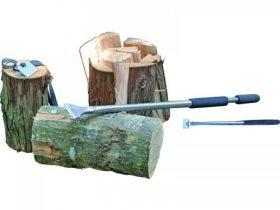 手動式 超かんたん薪割り機