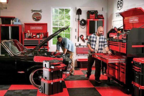 Craftsman VERSASTACK 車輪付ツールボックス