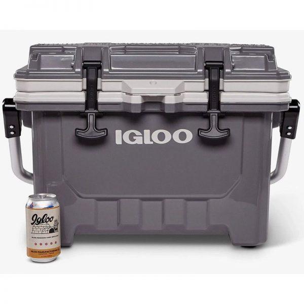 Igloo IMX クーラー グレー (50367) / COOLER 35 CANS 24QT GRY