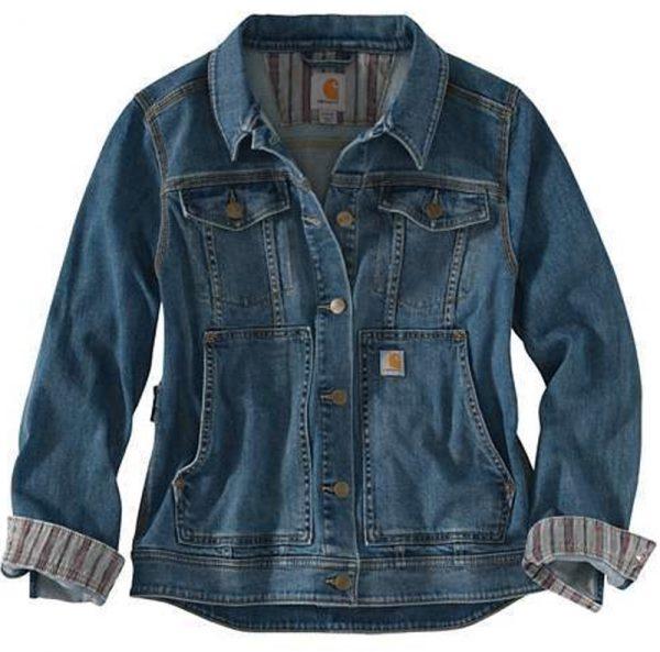 Carhartt Benson デニムジャケット レディース/ストーンウォッシュ Style #102970