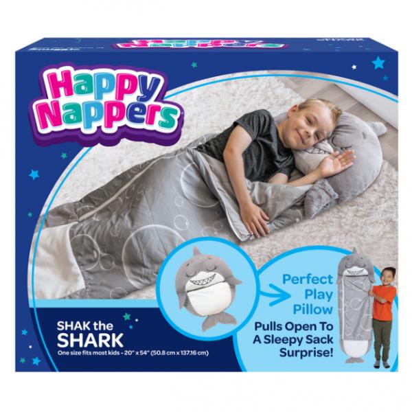 Happy Nappers シャーク型ピロー&寝袋