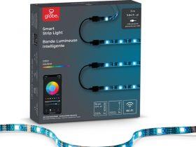 Globe Electric プラグ式LEDストリップライト ホワイト