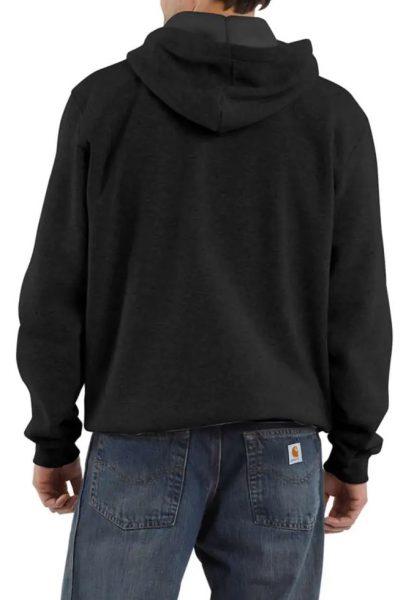 Carhartt ルーズフィットフード付中厚デトロイトグラフィックスエットシャツ