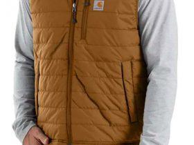 Carhartt Rain Defender®リラックスフィット軽量断熱性ベスト/カーハートブラウン Style #102286