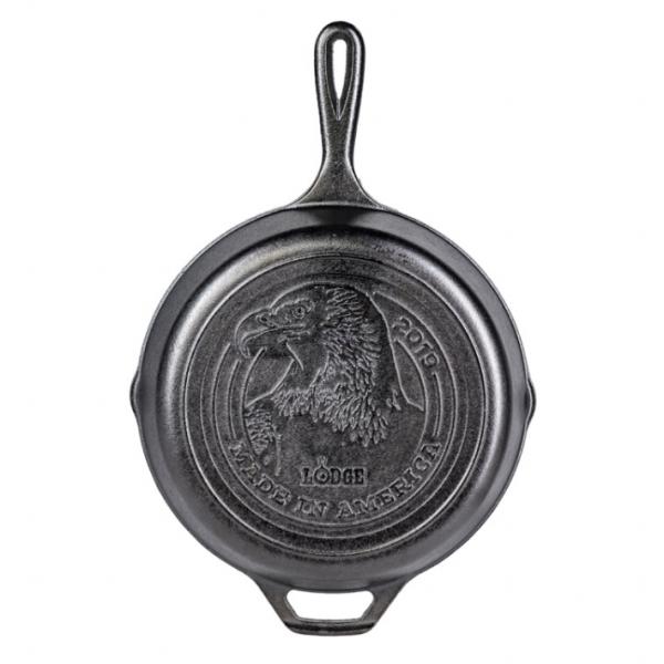 odge Eagle Head 鋳鉄製フライパン アメリカンイーグル刻印付