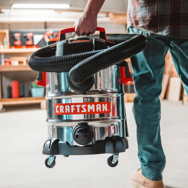 Craftsman コード式ウェット&ドライバキューム 10ガロン
