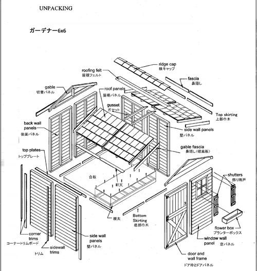 Gardener ガーデナー 6×6